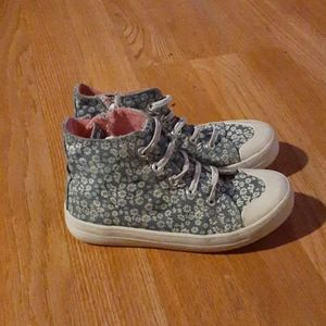 Piper floral print sneakers size 12